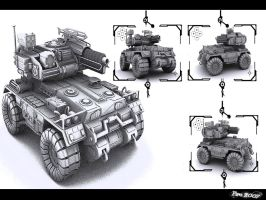 Armored Vehicle Wallpaperized by Pirosan