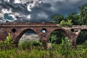 Old aqueduct by Lineageman