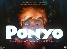 Ponyo Competition by juyideviant