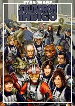 Star Wars - X-Wing Squadron Indigo by Robert-Shane