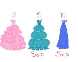 Prom Dress Collection Adopotable's #2 -OPEN- by Deamonfoxgurl