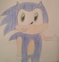 First Attempt: Sonic the Hedgehog by EnchantedSonicMagic