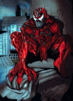 Marvel Comics: Carnage  by @Inceptivision by inceptivision