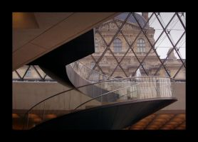 Stairs In The Louvre by craigthebrit