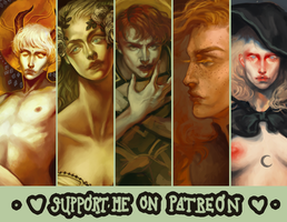 support me on patreon! by harteus