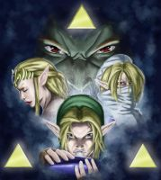 The Ocarina of Time by Phil-Sanchez