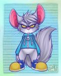 Pippins Bad Fur Day by ZombiDJ