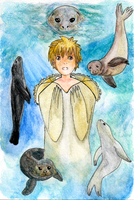 The Seal Boy by TheLegendofEevee