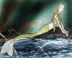DH Hatchling's Tale Mermaid design by Selinelle