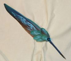 Paragon Soul - handpainted Featherquill by Ganjamira