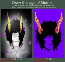 Draw This Again Meme by OmegaRedFox