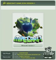 Minecraft Icon v2 by CODEONETEAM