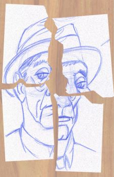 William S. Burroughs by NezumiWorks