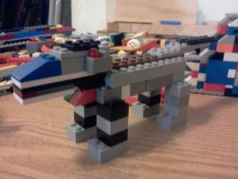 a lego wolf .........i think :P by ace00004
