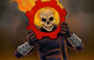 Ghost Rider of War by Nortedesigns