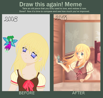 Draw this again Meme by BeckyTheBunny