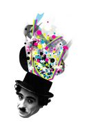 Charlie Chaplin by saggers