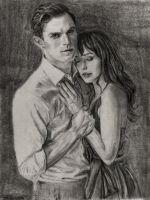 Fifty Shades of Grey  Christian and Ana by SHParsons