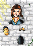 Kitty Pryde [Day 28] by wondering-souls