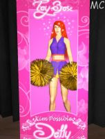 Kim Possible Hypnotized Cheerleader Doll Edition by The-Mind-Controller