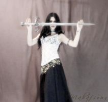 The Dance Before Bloodshed by Mahafsoun