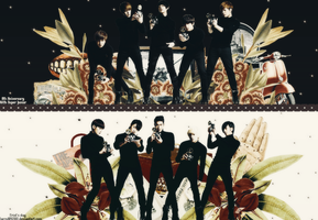 {Wallpaper #6} Super Junior by larry1042001