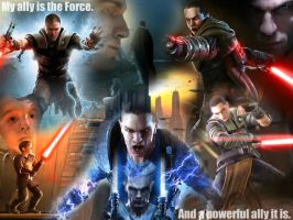 Galen Marek: The Force by Melciah1791