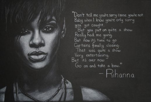 Rihanna - Take a Bow by Artists-eye-view