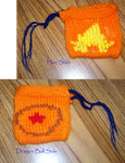 Dragonball Z Commission: Goku Change Purse by catluvr2