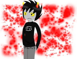 VERY UGLY KARKAT PICTURE by Tammiikat