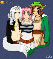 Fearsome Threesome by LovelyKouga