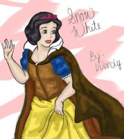 Snow White by jellybeanflair