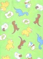 Dino Print for Children's Wear by Lunatiger