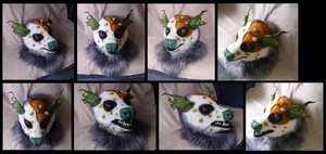 'Spoil' Possum Head by CuriousCreatures