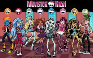 Monster High by VamprincessThamy
