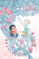 Steven Universe Issue 4 (A) Cover by missypena