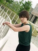 Heero Yuy from Gundam Wing by four-leaf-charm