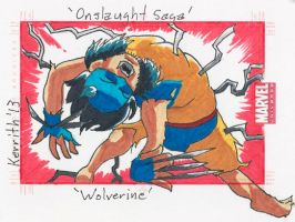 OS- Wolverine by KerrithJohnson