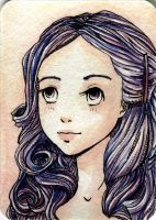 ACEO Art Card Original :: 6 by NaturalisIII