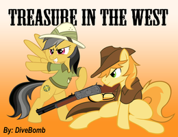 Treasure in the West (Final Cover) by DiveBomb5