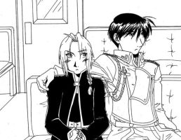 FMA-Unexpected Affection by Hikaru9