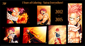 3 Years of Coloring by TobeyD