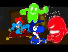 Hunter Mode with a good friend. by LazyReptile126