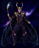 Loki by absoluteyeah