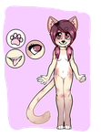 Simple anthro adopt .:300 points:.  {OPEN} by cheezpuffss
