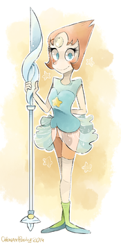 Pearl - Steven Universe by SketchBookOaP