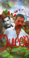 Freddie Mercury by By-Queen