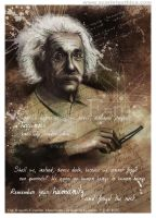 Albert Einstein Manifesto by Claudia-SG