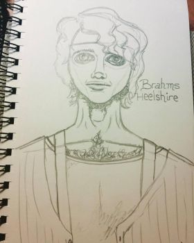 Brahms Heelshire (outline) by ItsNerdyKitty