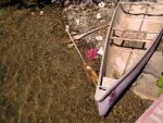 Object_transport_pink boat by Aimelle-Stock